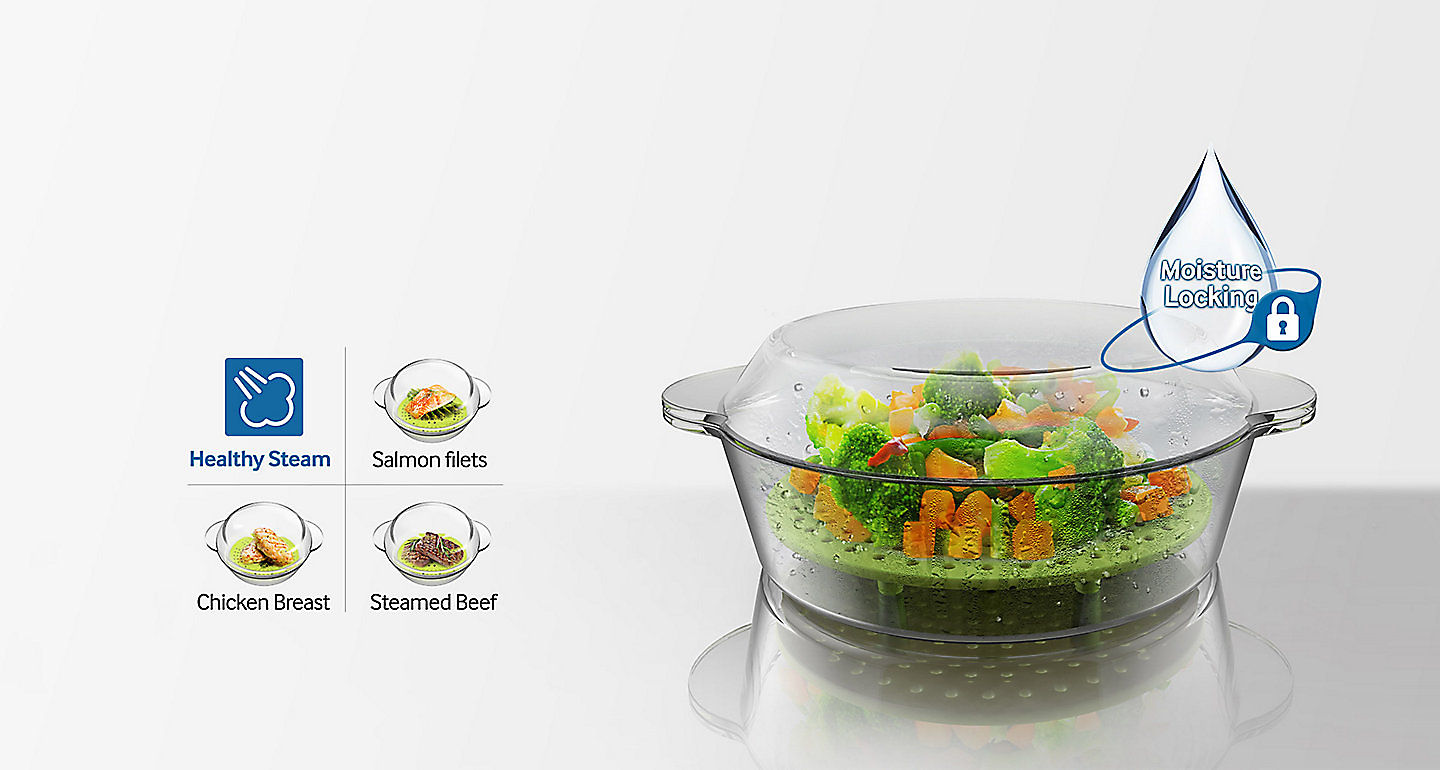 With The Healthy Steam Function And Gl Steamer You Can Quickly Easily Prepare Nutritious Succulent Cooked Food Simply Choose