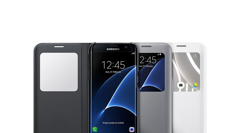 Samsung S-View Cover für Galaxy S7 edge - Berlet Technikerleben