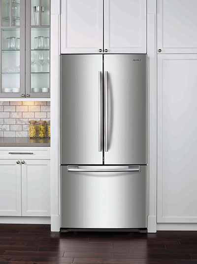 Samsung 18 Cuft 3 Door French Door Counter Depth Refrigerator With