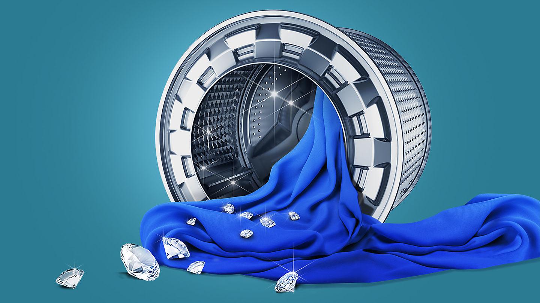Samsung WW 70 J 3473 KW Stand-Waschmaschine-Frontlader weiß / A+++ ...