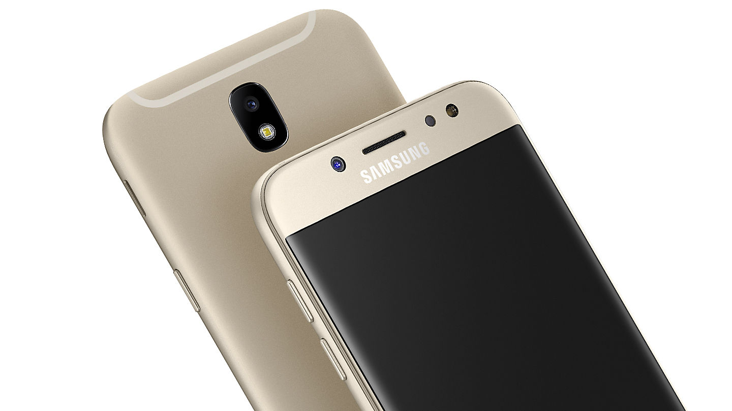 The New Samsung Galaxy J7 Pro Features A Stunning Uniform Metal Finish With Zero Camera Protrusion For Superior Grip And 25D Glass Shielding Its 55