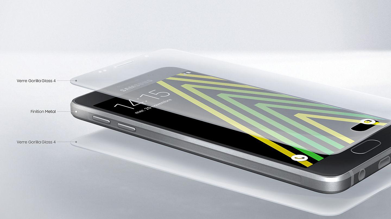 Le Galaxy A5 Est Un Smartphone Moderne Et Soigne Il Disponible En Noir Or Rose Ou Blanc Pour Que Chacun Puisse Choisir La Combinaison Qui Lui