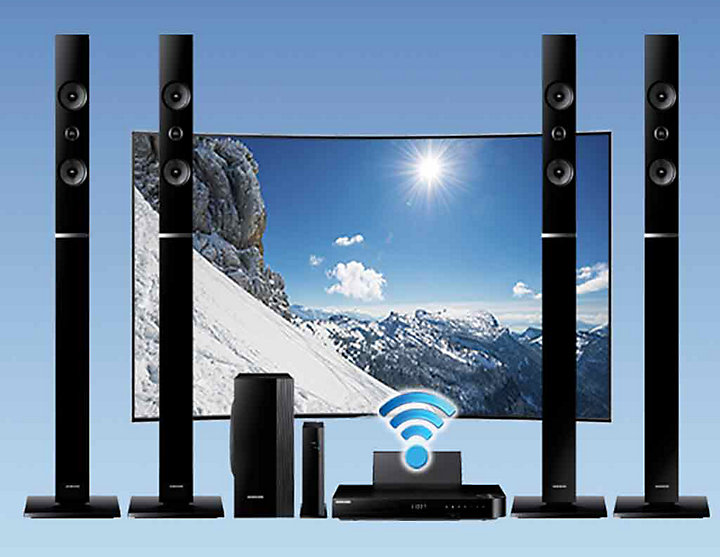 Samsung Ht H6550wm 3d Blu Ray Home Theatre System 1000w At The Good Guys