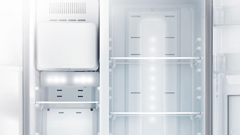 Side By Side Kühlschrank 10 Jahre Garantie : Samsung rs5hk4605sa side by side kühl gefrierkombination edelstahl