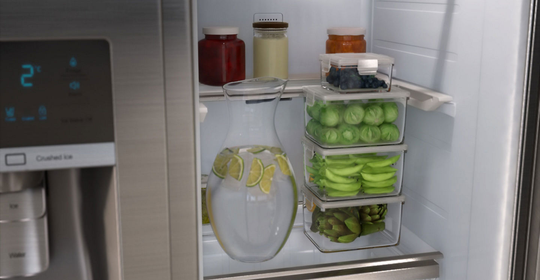 Kühlschrank Eierhalter : A nofrost l side by side kühlschrank samsung de