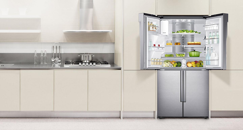 Aeg Kühlschrank French Door : Side by side kühlschrank mit french door: nur zentimeter breit u