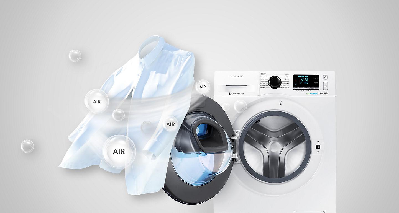 Lavadora Secadora Samsung Addwash Ecobubble Wd90k6414ow Ec De 9 Kg  ~ Electrodomesticos El Corte Ingles Lavadoras