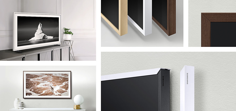 Marco Samsung para TV The Frame 139,7 cm (55\'\') Blanco · Electrónica ...