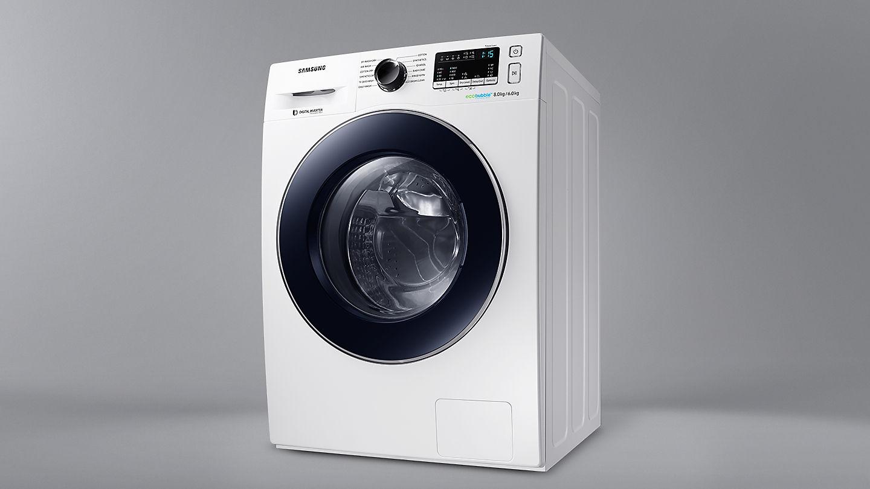 Lavadora Secadora Samsung Ecobubble Wd80m4453iw Ec De 8 Kg Y 1 400  ~ Electrodomesticos El Corte Ingles Lavadoras