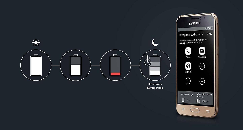 Jual Samsung Galaxy J1 2016 Smartphone Gold 1 Gb 8 Terbaru 4gb Biru Ini Dilengkapi Dengan Baterai 2050mah Dan Ultra Power Saving Mode Untuk Pengaturan Menghemat Baterei Anda