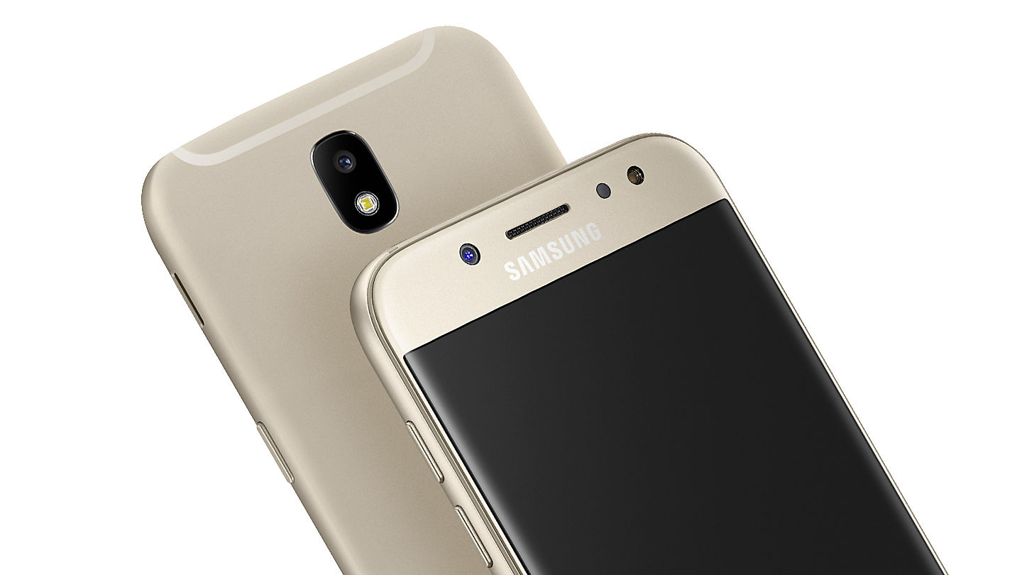 The New Samsung Galaxy J5 Pro Features A Stunning Uniform Metal Finish With Zero Camera Protrusion For Superior Grip And 25D Glass Shielding Its 52