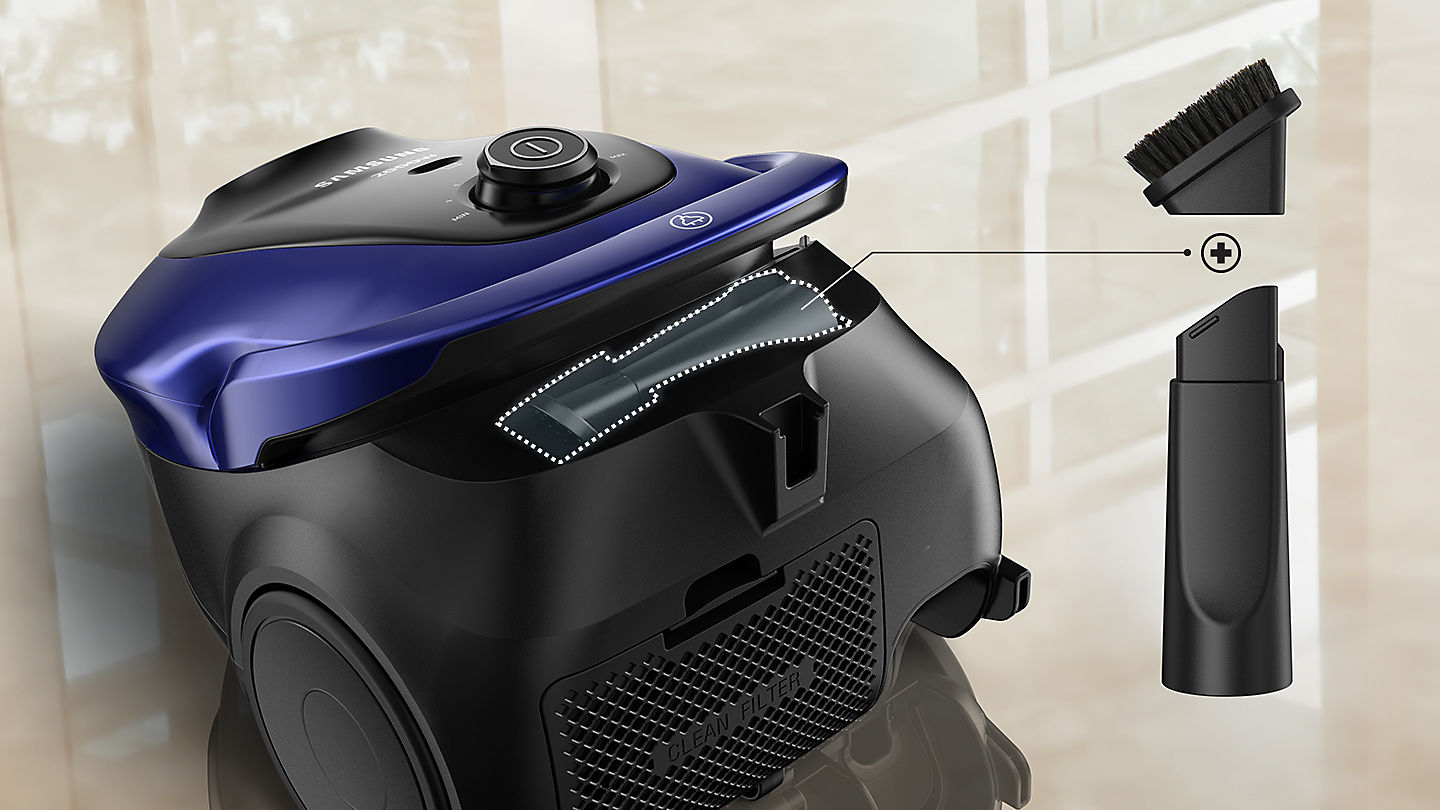 Samsung 2000w Canister Vacuum Cleaner With More Suction
