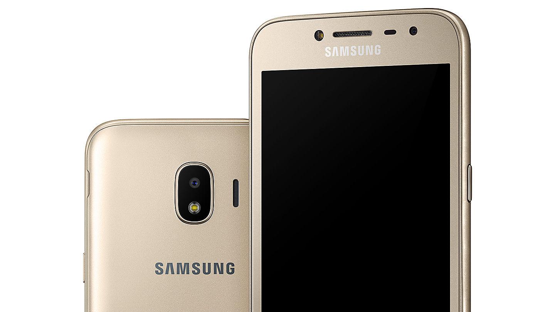 Samsung Galaxy J2 Pro Selalu Nyaman Digenggam Di Tangan Anda Dengan Desain Melengkung Pada Bagian Belakangnya Juga Hadir