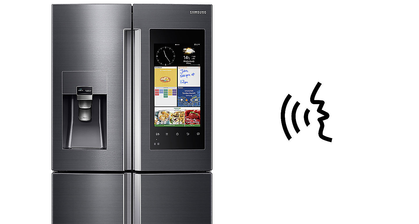 App must be downloaded to a compatible smartphone (supports Android and Apple). Family Hub requires an internet connection. Data charges may apply.  sc 1 st  Harvey Norman & Samsung Family Hub 671L French Door Fridge Freezer | Harvey Norman ...