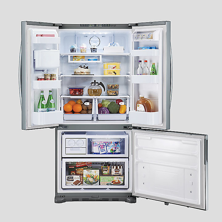 Amazing Samsung 528l French Door Fridge Part - 4: Discover The Benefits Of Space And Convenience With This Large Capacity  Refrigerator, Making It Great For Entertaining.