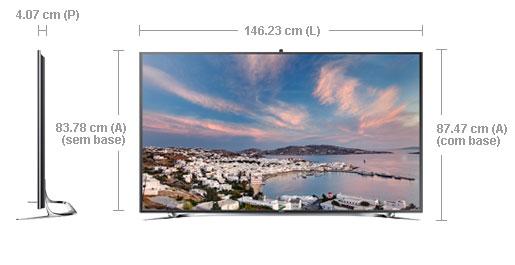 Extremamente Smart Interaction TV 3D Slim LED 65