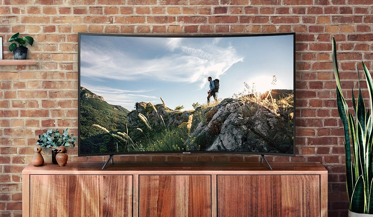 "Samsung TV UHD LED (65"", 4K, Smart, Curved) UA65NU7300KXXT"