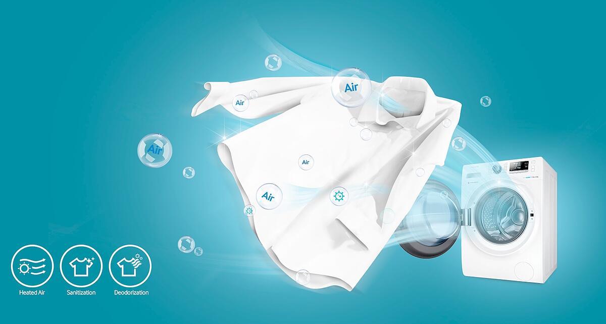 Samsung wd n oox stand waschtrockner inox ocean blue a