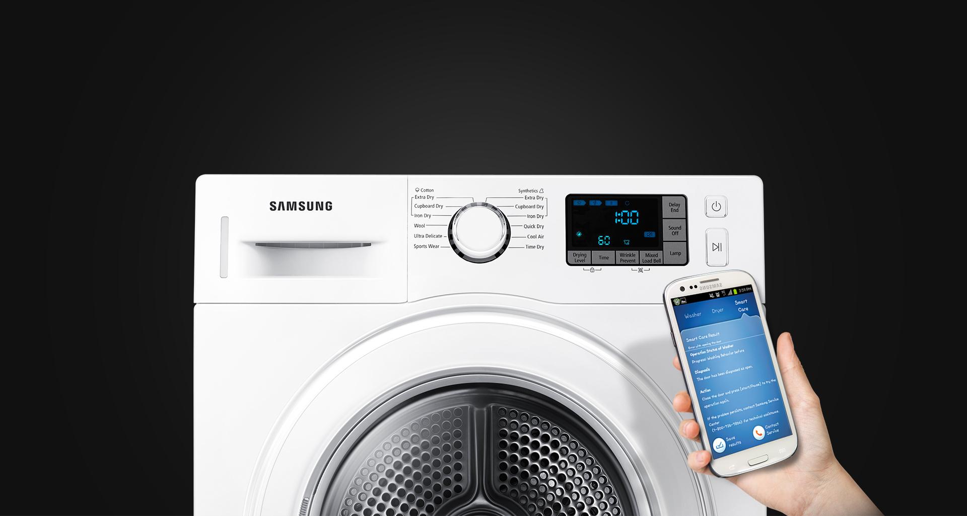 Samsung dv f e hgw wärmepumpentrockner weiß crystal weiß a