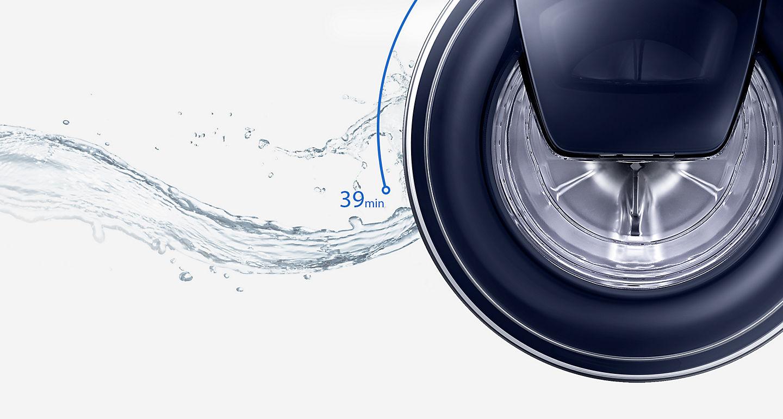 Samsung ww m opw waschmaschine weiß quickdrive™