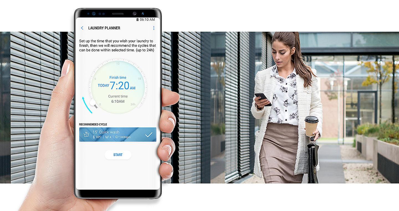 Samsung wd n noa eg waschtrockner weiß quickdrive™