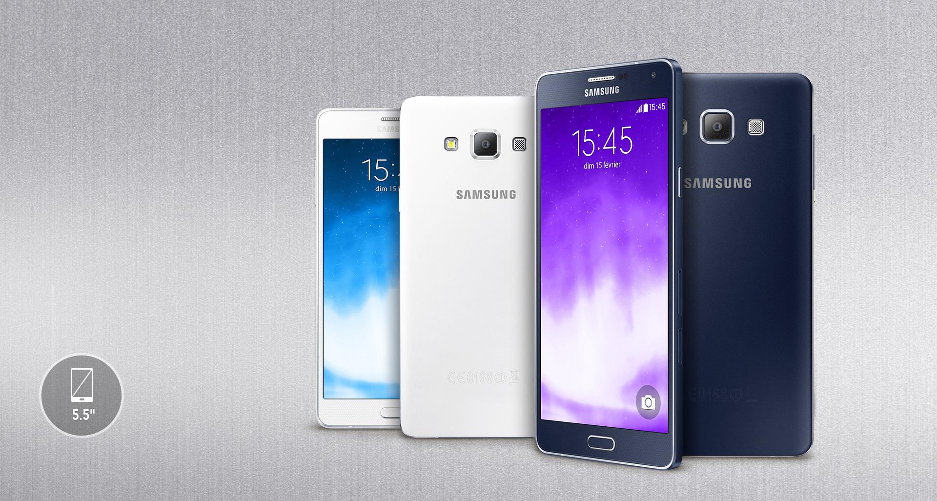 Finitions Parfaites Et Design Elegant Le Samsung GALAXY A7