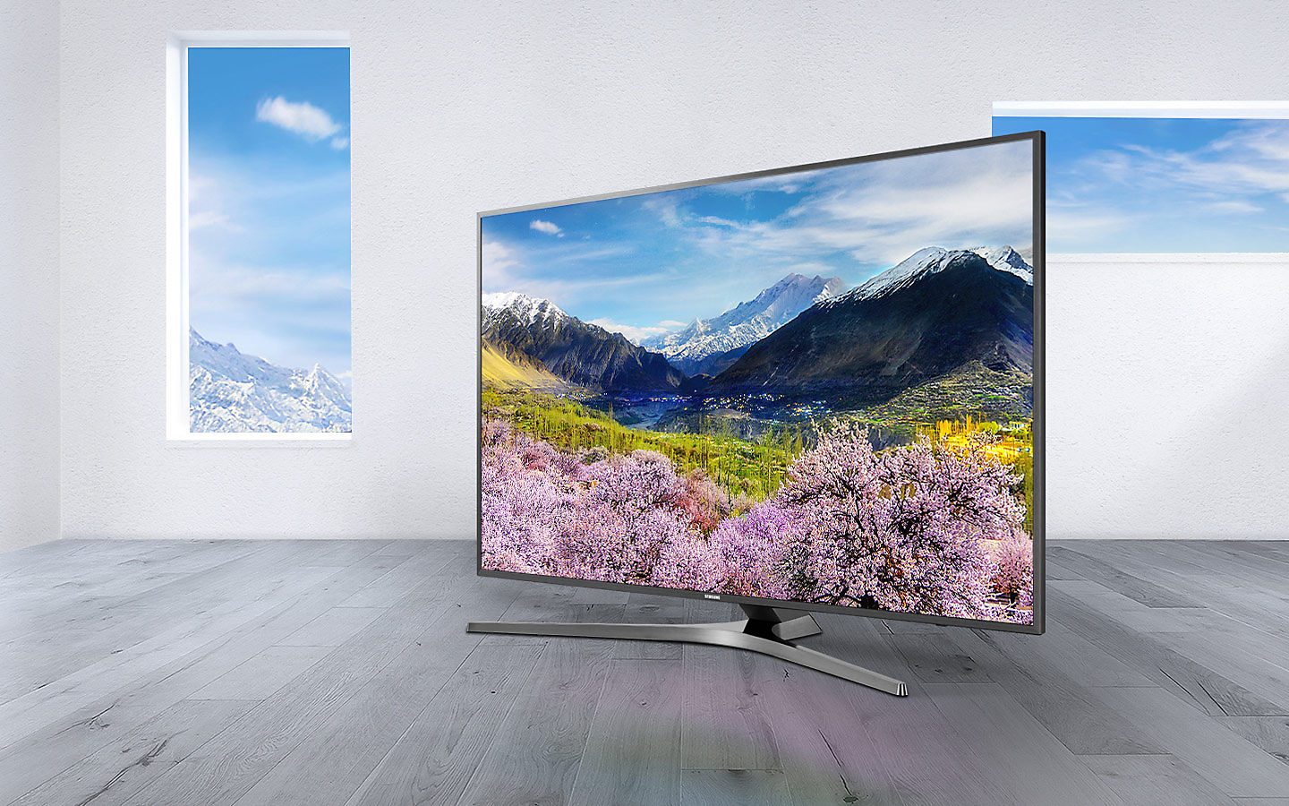 Tv Led Samsung Ue40mu6405 4k Uhd Darty