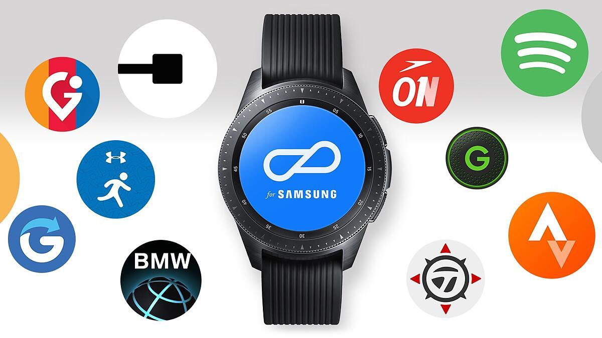 Samsung Galaxy Watch (46mm) Bluetooth (Silver) SM-R800NZSAXME
