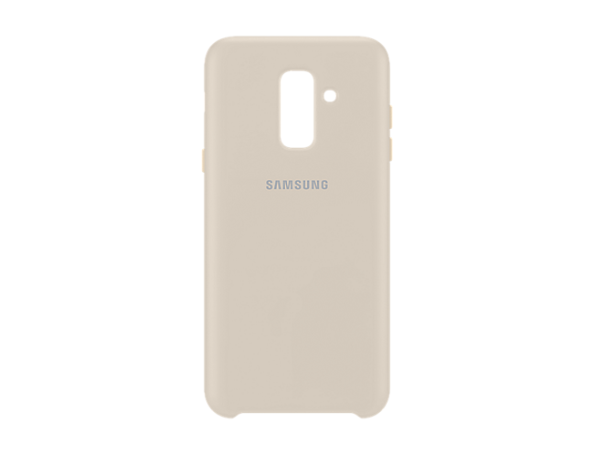 new arrival 7f75e 6d2d7 Samsung Dual Layer Back Case Cover for Samsung A6 Plus (Gold ...