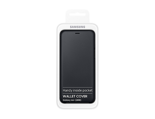 info for b8001 85950 Samsung Flip Wallet Cover for Galaxy A6 Plus (Black) | Accessories ...