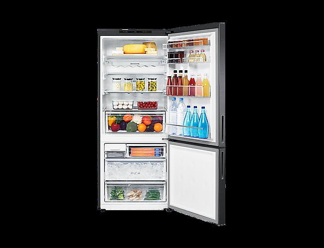 Samsung SRL451BLS 458L Bottom Mount Refrigerator at The Good Guys