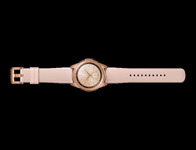 51eeec3a006b Samsung 1091101506 Galaxy Watch 42mm Bluetooth - Rose Gold at The ...