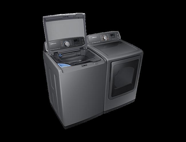 Samsung 6 0 Cu  Ft  Top-Load Washer – WA52M7755AP/A4