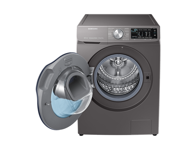 Samsung wd80n642oox eg waschtrockner inox quickdrive™