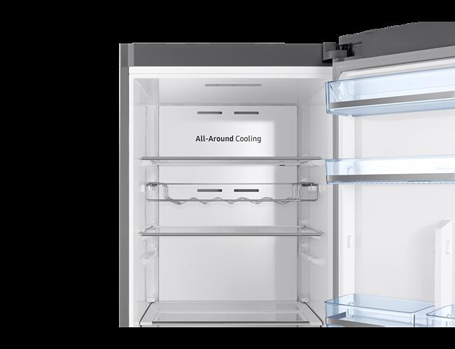Siemens Kühlschrank Rückwand Vereist : Samsung rr m f standkühlschrank refined steel a euronics
