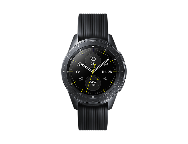 3c04d0100a5b Reloj inteligente Smartwatch Samsung Galaxy Watch 42 mm BT Negro ...