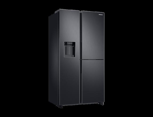 Side By Side Kühlschrank Samsung Schwarz : Side by side kühlschrank samsung schwarz rs n sl kühlschrank mit