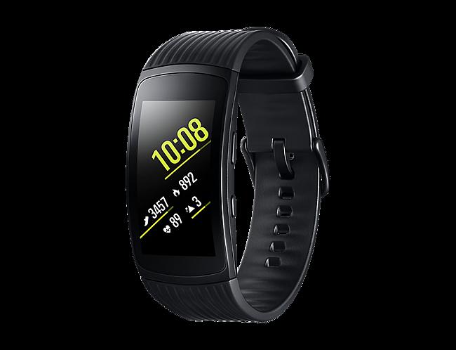 a87617b9f892 Pulsera de actividad Samsung Gear Fit 2 Pro Negro · Electrónica · El ...