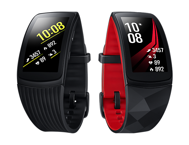 Pulsera de actividad Samsung Gear Fit 2 Pro Negra Roja · Electrónica ... 5f5c0a3063e8