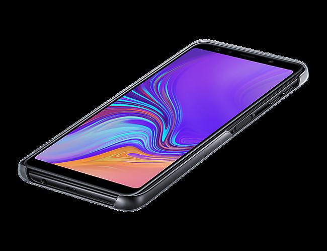 Para Galaxy Gradation A7 Cover Negra Samsung Funda Y7ygb6f