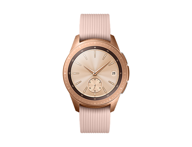 b67ccda35 Smartwatch Samsung Galaxy Watch - 42mm - Rosa Dourado - Smartwatch ...