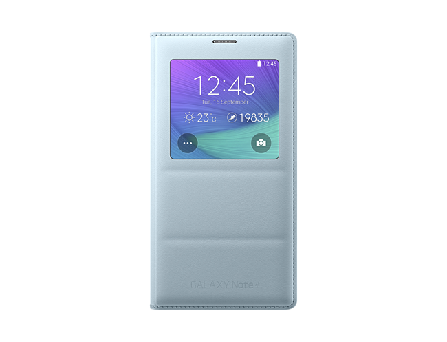 detailing 64a53 6835b Samsung S-view Cover for Samsung Galaxy Note 4 (White)