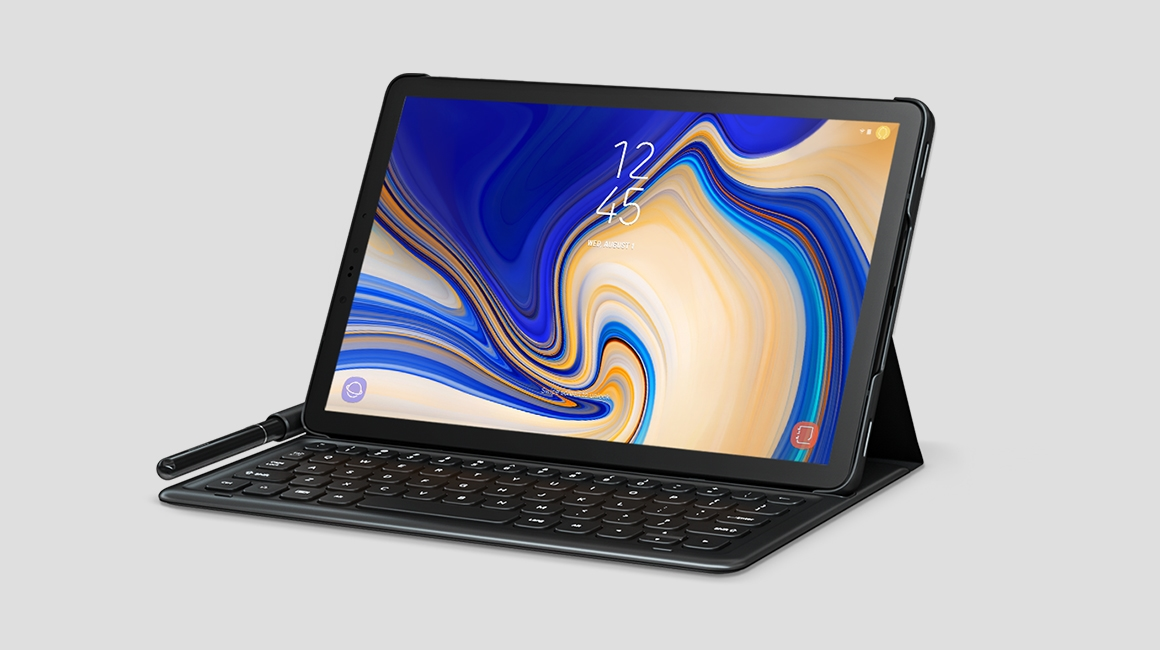 free shipping aa425 a7583 Tab S4 Keyboard Cover Grey
