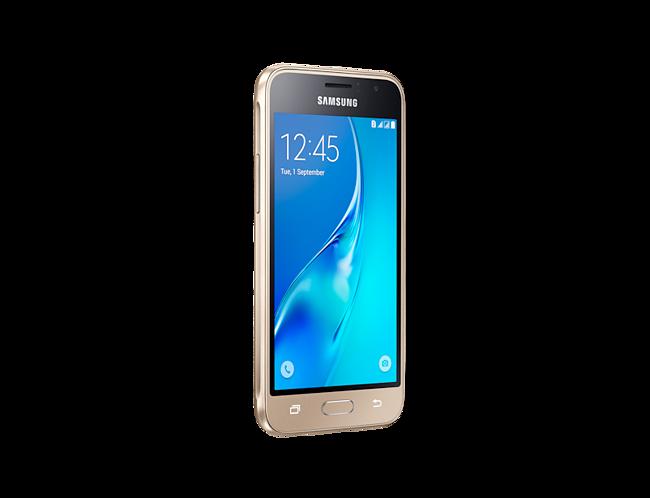 Samsung Galaxy J1 (2016) SM-J120 Dual Sim (4G, 8GB, Gold) With Official  Warranty