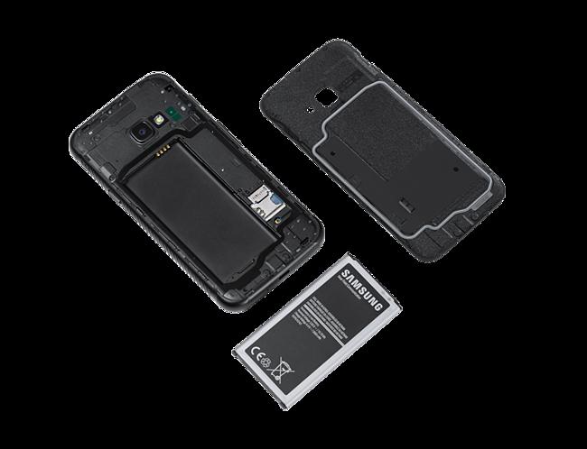 timeless design 080be 71b6e Samsung Galaxy Xcover 4 - black - 4G - 16 GB - GSM - smartphone