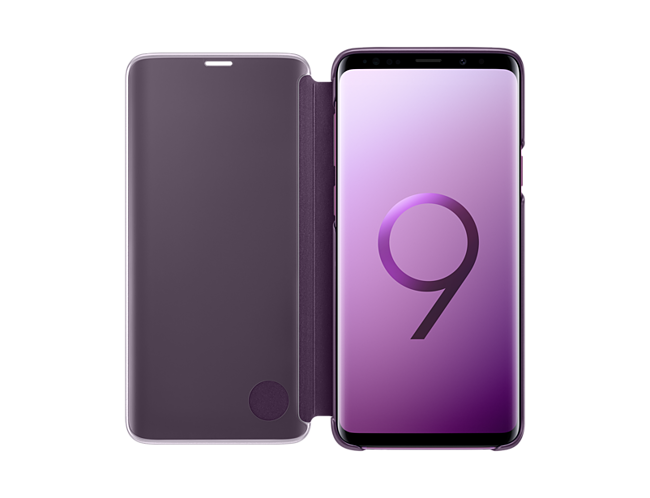 Samsung 1091101383 S9 Plus Clear View Standing Cover - Purple at The Good  Guys