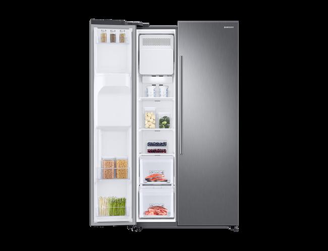 Amerikanischer Kühlschrank Mit Fernseher : Amerikanischer kühlschrank lg lg electronics gsj didv side by