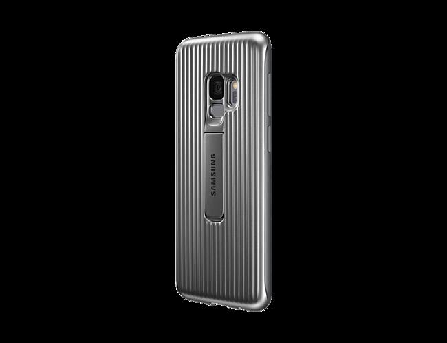 a7b84568998 Funda Samsung Protective Standing Cover plata para Galaxy S9 ...