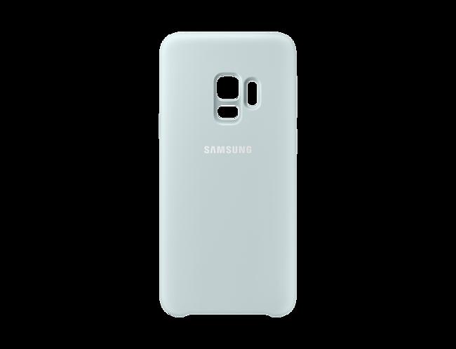 262a4fae495 Funda Samsung Silicone Cover azul para Galaxy S9 · Electrónica · El ...
