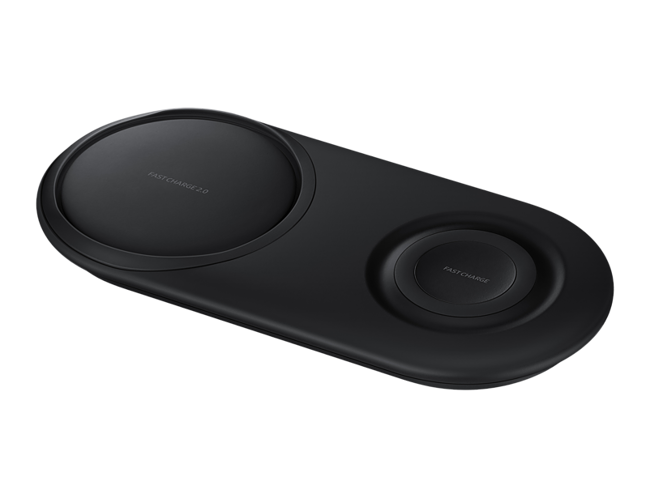 SAMSUNG WIRELESS CHARGER DUO PAD SVART Power.no